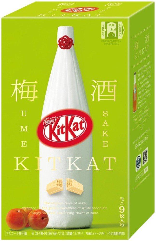 「キットカット 梅酒 鶴梅」 和歌山の銘酒×ホワイトチョコ、中田英寿プロデュースの新作 -