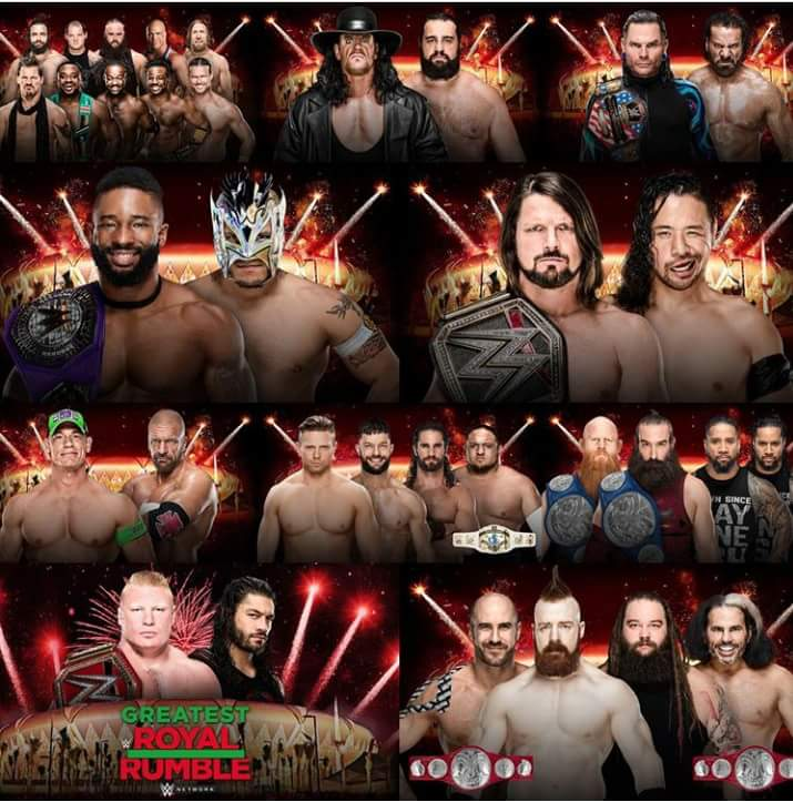 wwe greatest royal rumble 2018 - Dbm9ZKlXkAAVKZd - WWE Greatest Royal Rumble 2018 Match Card, Poster, Date – Location