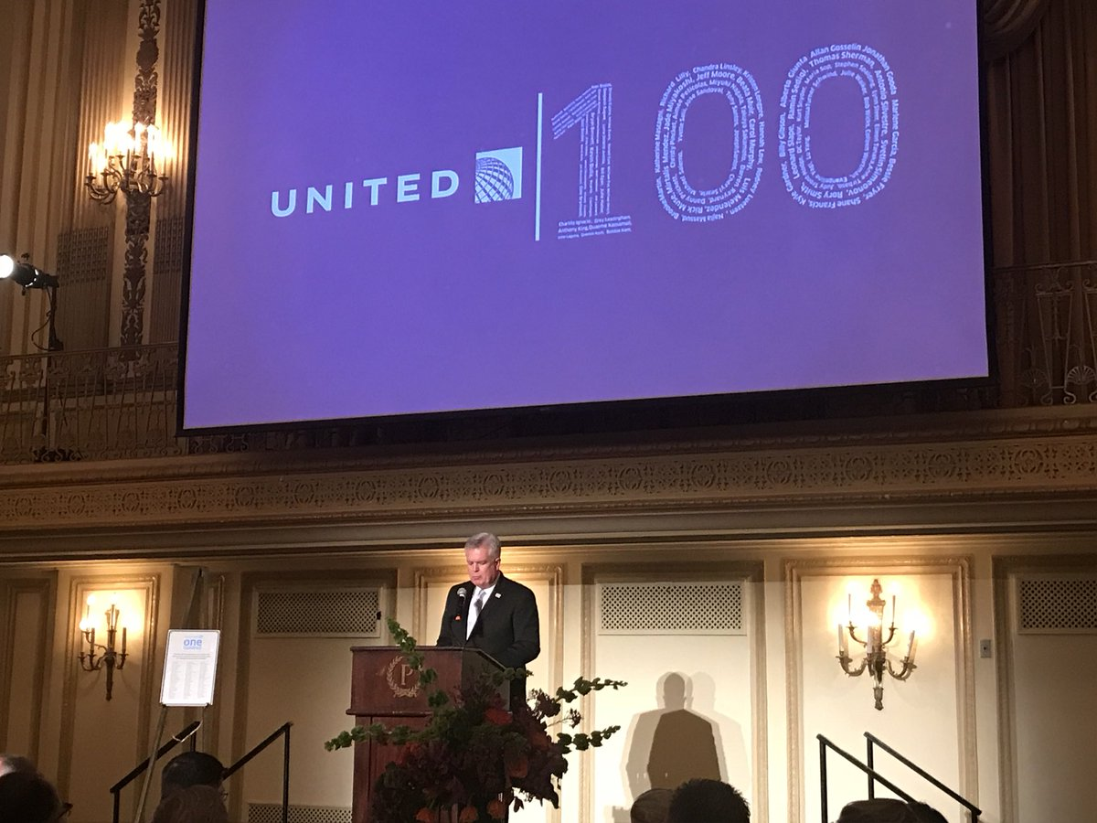 Wonderful United 100 event tonight! Congratulations to the BEST of the BEST! @weareunited #beingUnited