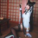 Image for the Tweet beginning: 作品:#アズールレーン キャラ:#愛宕 cn:柴田猫二 #コスプレ #コスプレイヤー #Lemailwig