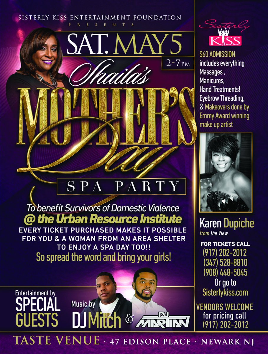 Help @shailakiss continue to make a difference in #NYC #NJ #CT @WBLS1075NYC<br>http://pic.twitter.com/I4keQTiPrE
