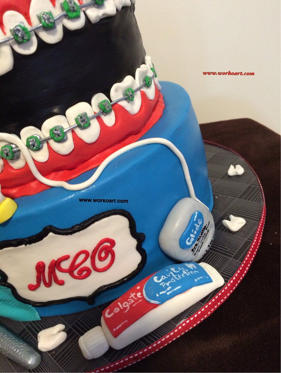 Every Last Detail On This Cake Is Edible SpecialityCake Dentist DentistCake CustomCake Doctorpictwitter 9st4WVDFgd