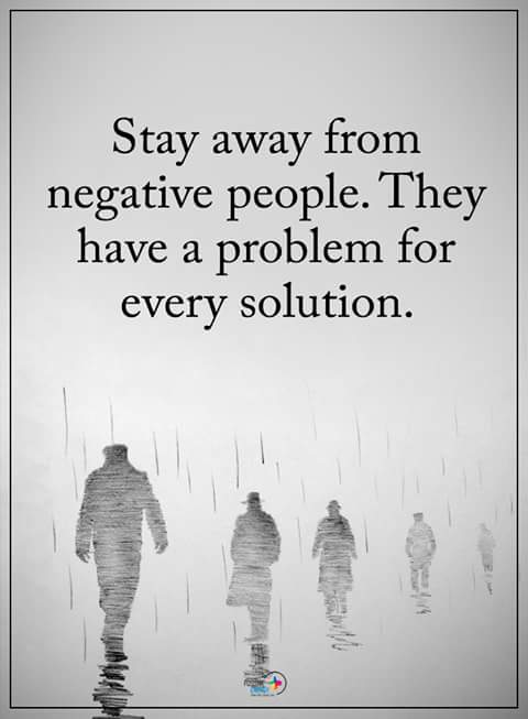 Inspirational Quotes On Twitter Stay Away From Negative People