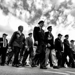 Image for the Tweet beginning: They marched, we remembered. #AnzacDay