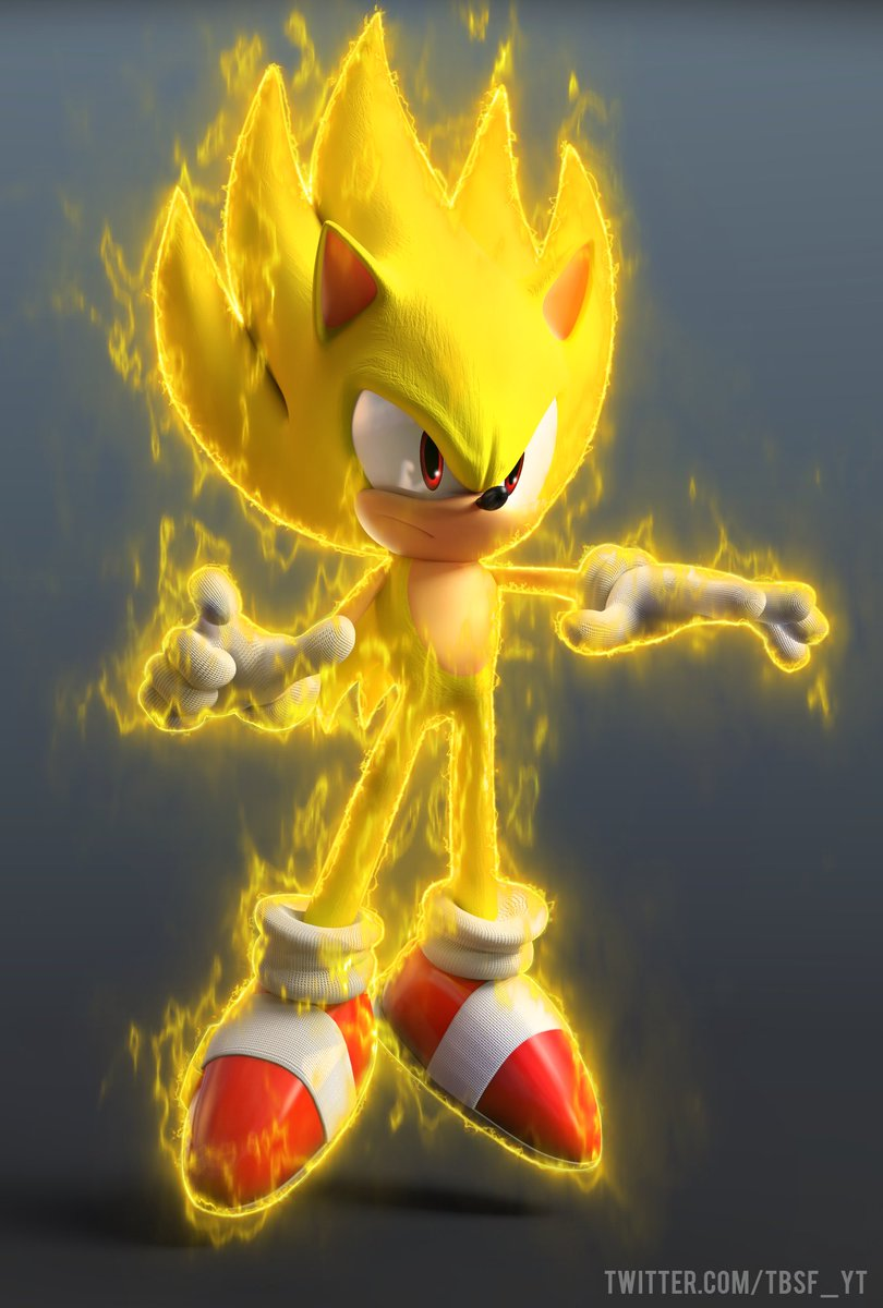 Tbsf on twitter so i made a super sonic render with a - Super sonic 6 ...