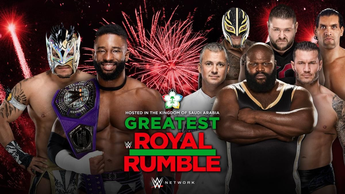 wwe greatest royal rumble 2018 - DbmlVXcWkAAf Dq - WWE Greatest Royal Rumble 2018 Match Card, Poster, Date – Location