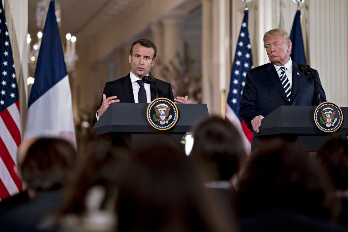 Trump unmoved by Macron's personal pitch to stick with Iran deal https://t.co/DzP6K2D03i