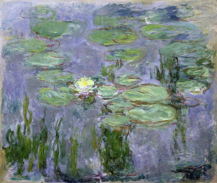 """""""La dernière manière de Monet menace les conventions du tableau de chevalet. Aujourd'hui, vingt ans après sa mort, sa pratique est devenue le point de départ d'une nouvelle tendance picturale."""" (Clement Greenberg, critique d'art, en 1948 ) https://t.co/dGJvoO7UWj"""