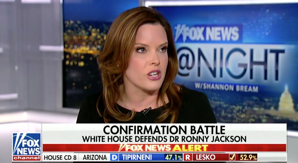 WH Strategic Comms Director Mercedes Schlapp Defends Ronny Jackson: 'These Are False Allegations' https://t.co/PSjwSrj4YO