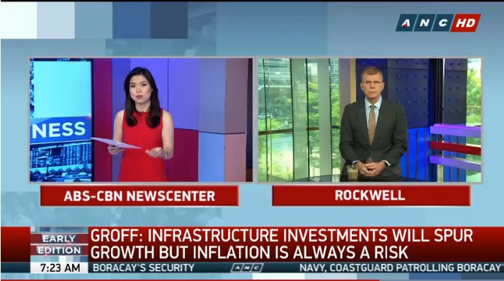 'Inflation is a risk with higher infrastructure spending and government has to make sure that these resources are used on 'productive assets', ADB VP @spgroff tells #ANCEarlyEdition's  @michelle_d_ong https://t.co/lgVcESJJzP via @ANCALERTS
