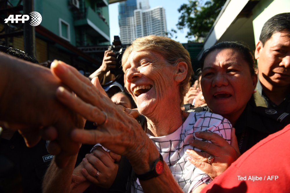 This 71-year-old Australian nun has angered Philippine President Rodrigo Duterte by investigating alleged rights abuses. So she's being deported https://t.co/5dcYnPSyOJ
