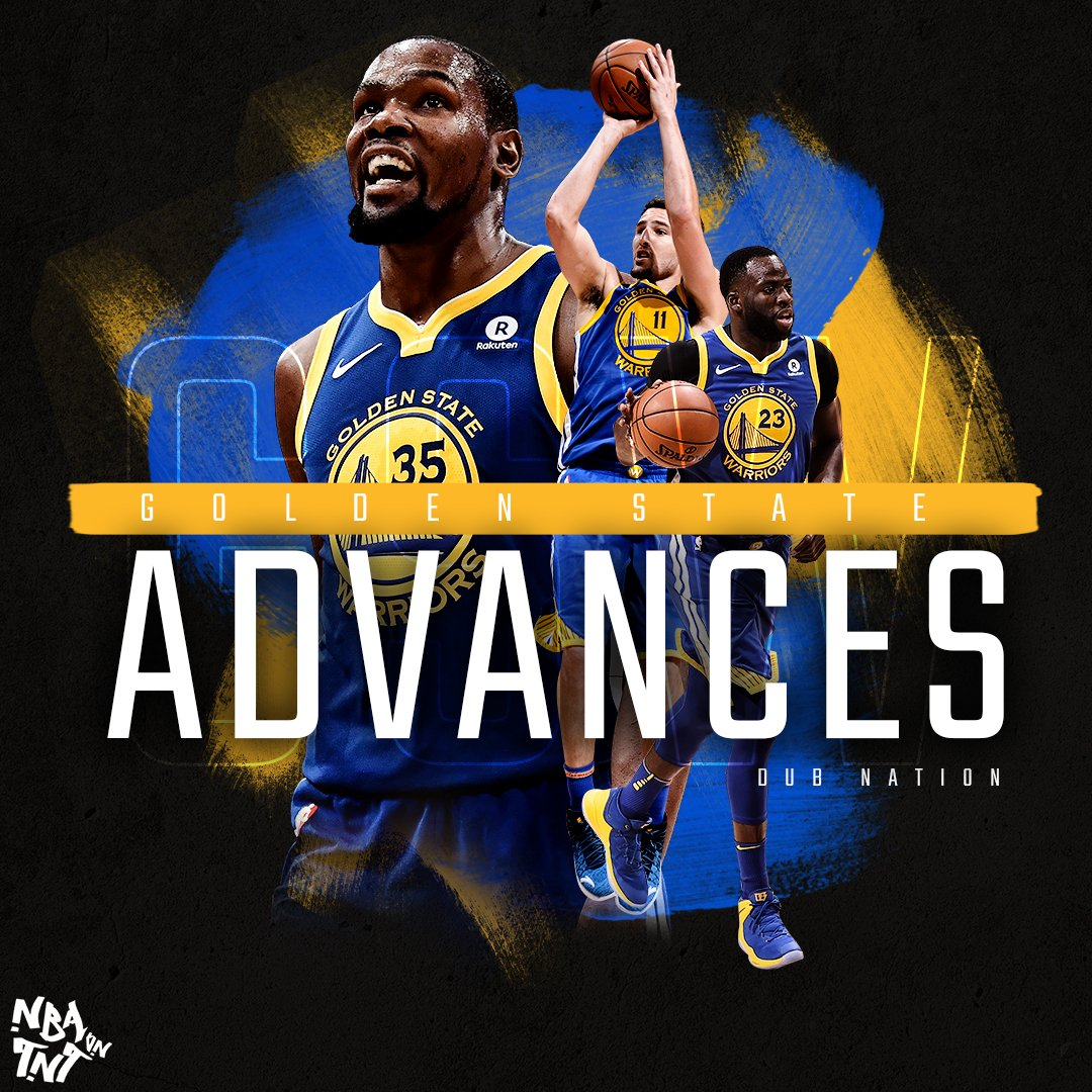 #DubNation is headed to the Western Conference Semifinals! #NBAPlayoffs