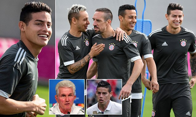 James Rodriguez was left 'depressed' after being sent to Bayern Munich on loan, admits Jupp Heynckes, but he could come back to haunt Real Madrid in Champions League semi showdown https://t.co/yig2phRHgn