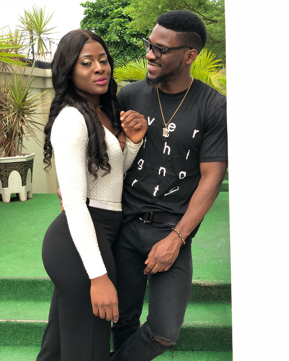 The Usual duo Tolex    Two Fools who love themselves for being fools  #BBNaija <br>http://pic.twitter.com/lJNrImtqPg