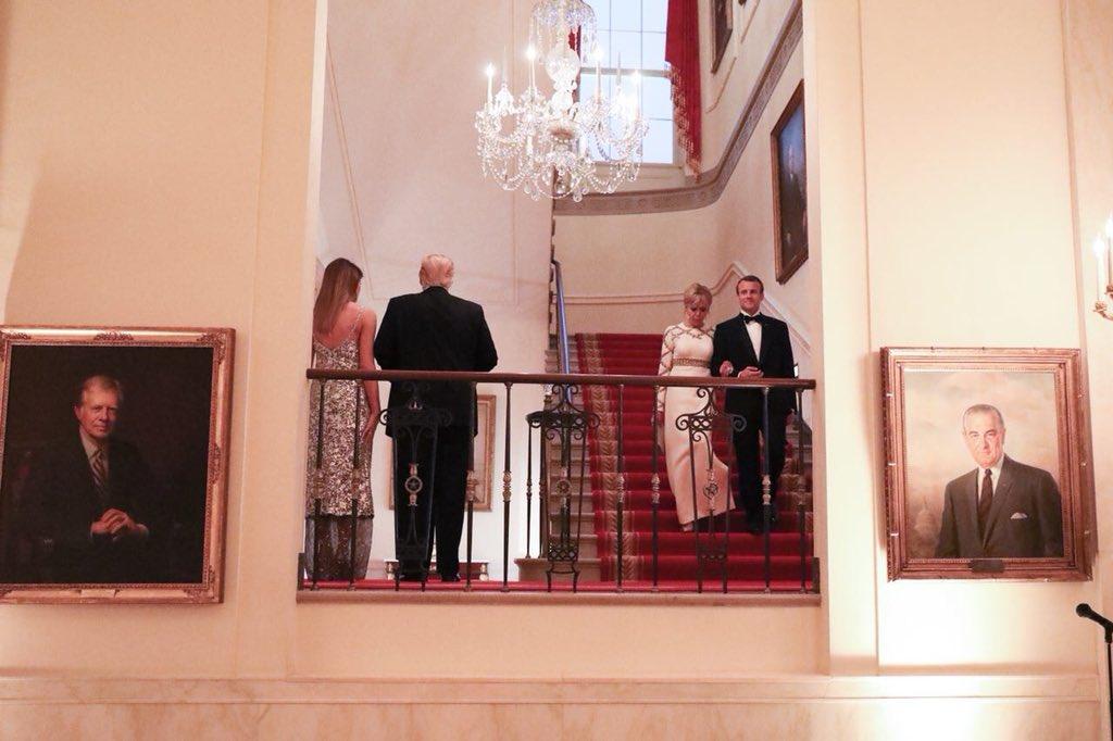 La Maison Blanche est un lieu mythique, traversé par l'amitié franco-américaine. C'est dans ses murs qu'une partie de l'histoire du 21ᵉ siècle peut continuer à s'écrire.