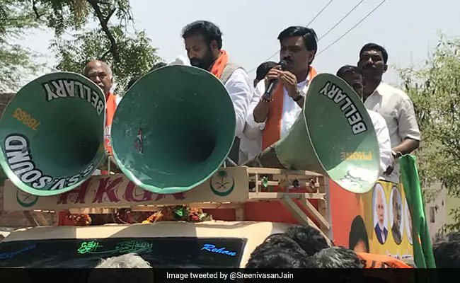 Janardhan Reddy, mining kingpin disowned by Amit Shah, campaigns for BJP https://t.co/5IQzq2l3Qe  #KarnatakaElections2018 #ElectionsWithNDTV #AssemblyElections2018