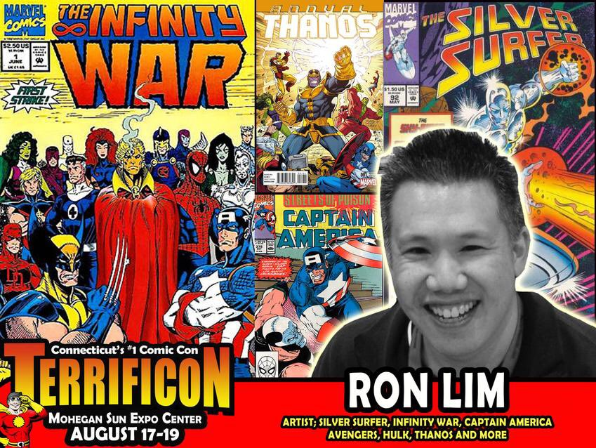 TERRIFICON's salute to #avengersinfinitywar continues with our returning guest, artist Ron Lim! See Ron @mohegansun on August 17-19 in Uncasville, Connecticut for the terrific Comic Con!   #comicon #comiccon #connecticut #mohegansun <br>http://pic.twitter.com/lCWCVOdKKd