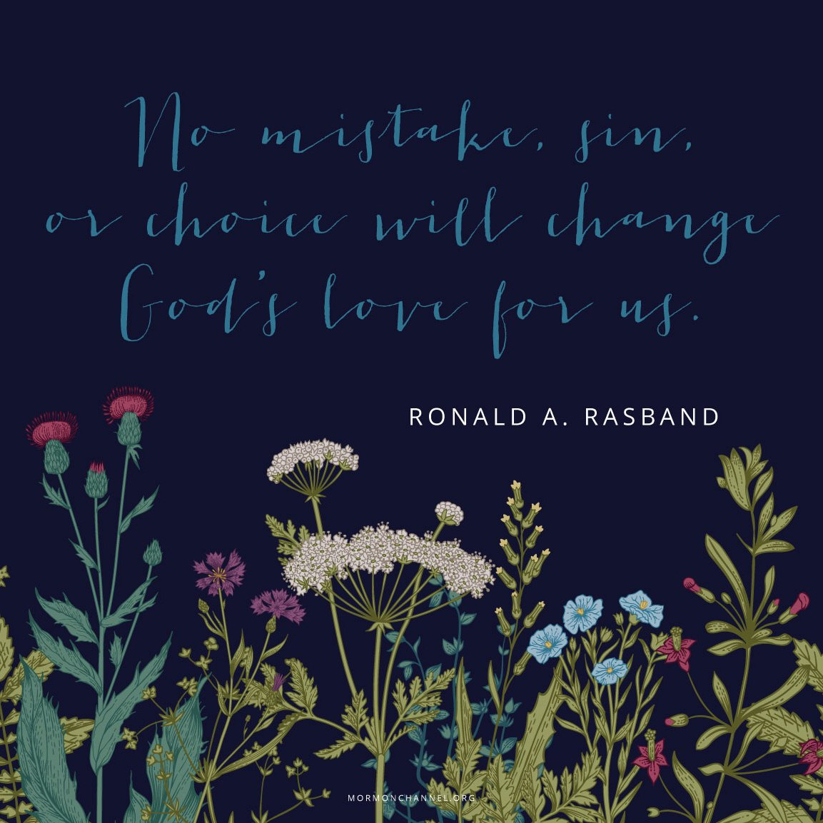 &quot;Do not forget, Heavenly Father knows and loves each of you, and He is always ready to help.&quot; —RonaldA. Rasband  #QuoteOfTheDay <br>http://pic.twitter.com/xSyEJkDSKi