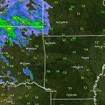 Image for the Tweet beginning: Regional radar & temperatures at