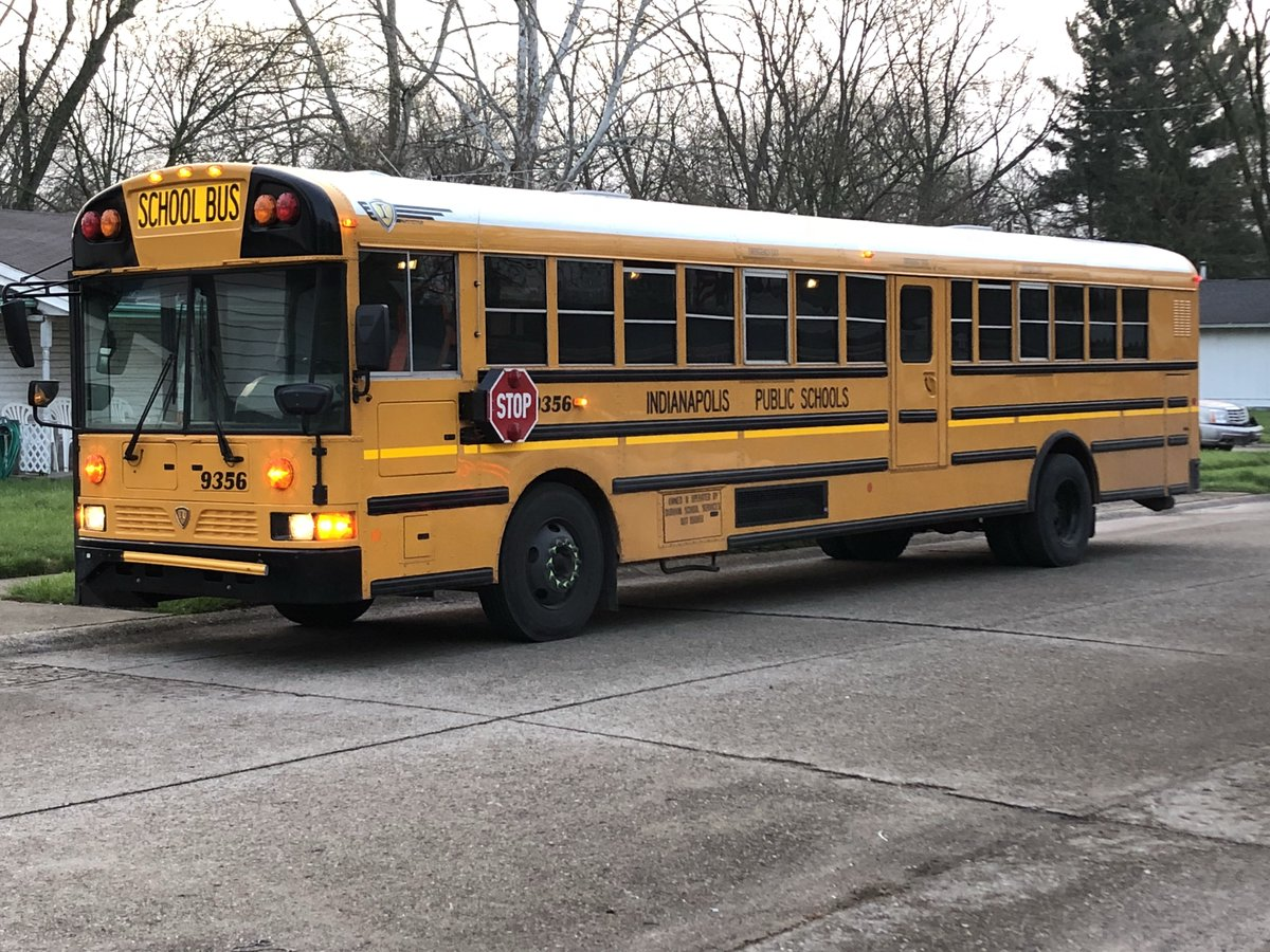 SCHOOL BUS FENDER BENDER: IPS bus #9356 was in a minor accident on Windmill Dr (near 38th &amp; Moller). There were students on the bus, but police tell me that everyone is just fine. #NewsTracker #Daybreak8 <br>http://pic.twitter.com/kgzTXQKFzk