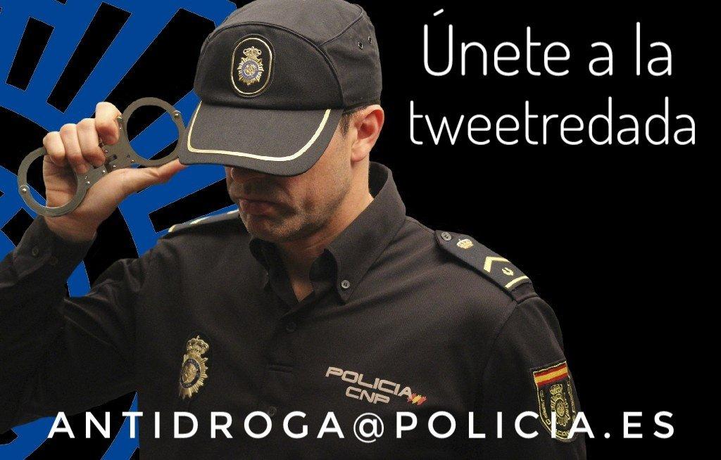 La droga destroza barrios, familias, VIDAS... Cuanto más lejos, mejor. Únete a nuestra redada tuitera:                 📞091         antidroga@policia.es En breve os contamos la mayor incautación de cocaína en un contenedor, realizada en #Algeciras.