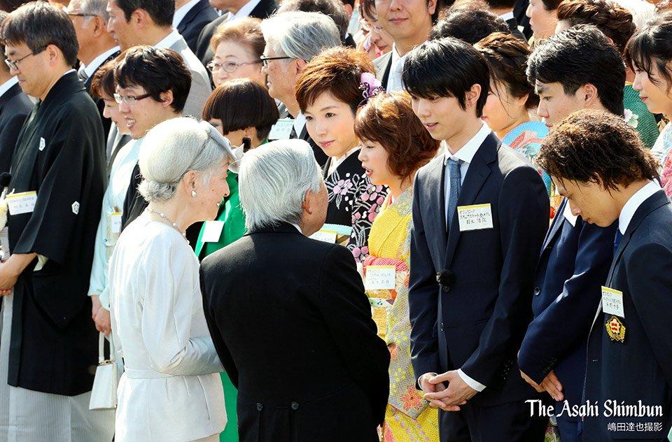 spring garden party Yuzuru Hanyu