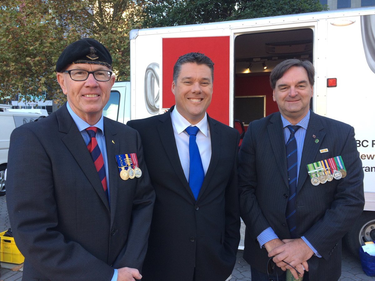Genuine honour to again host @ABCTV Perth's coverage of the Anzac Day March. Thanks so much to Military Historians Wayne Gardiner and Steve Danaher for their insights. Lest We Forget #ANZAC2018