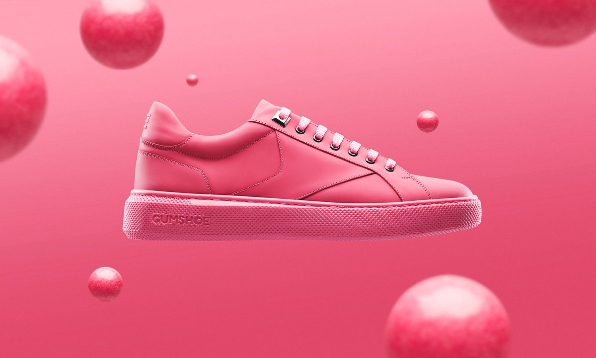 These sneakers are made from recycled chewing gum https://t.co/7MF1RJVq5w