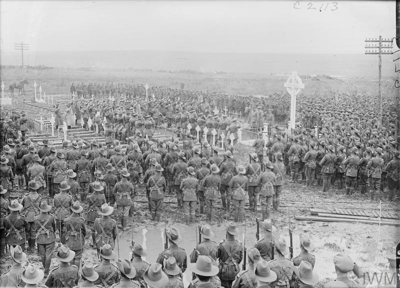 Today is Anzac Day, where we remember all Australians and New Zealanders who served and died in all wars, conflicts and peacekeeping operations. #ANZAC #anzacday2018 Image: IWM