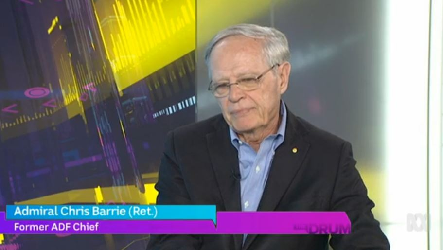 """I blew a fuse when I read about the Aus War Memorial planning to spend $500m on another centre. For $500m we could buy a proper research + treatment centre for PTSD! We could treat our veterans properly"" Chris Barrie #AnzacDay #TheDrum"