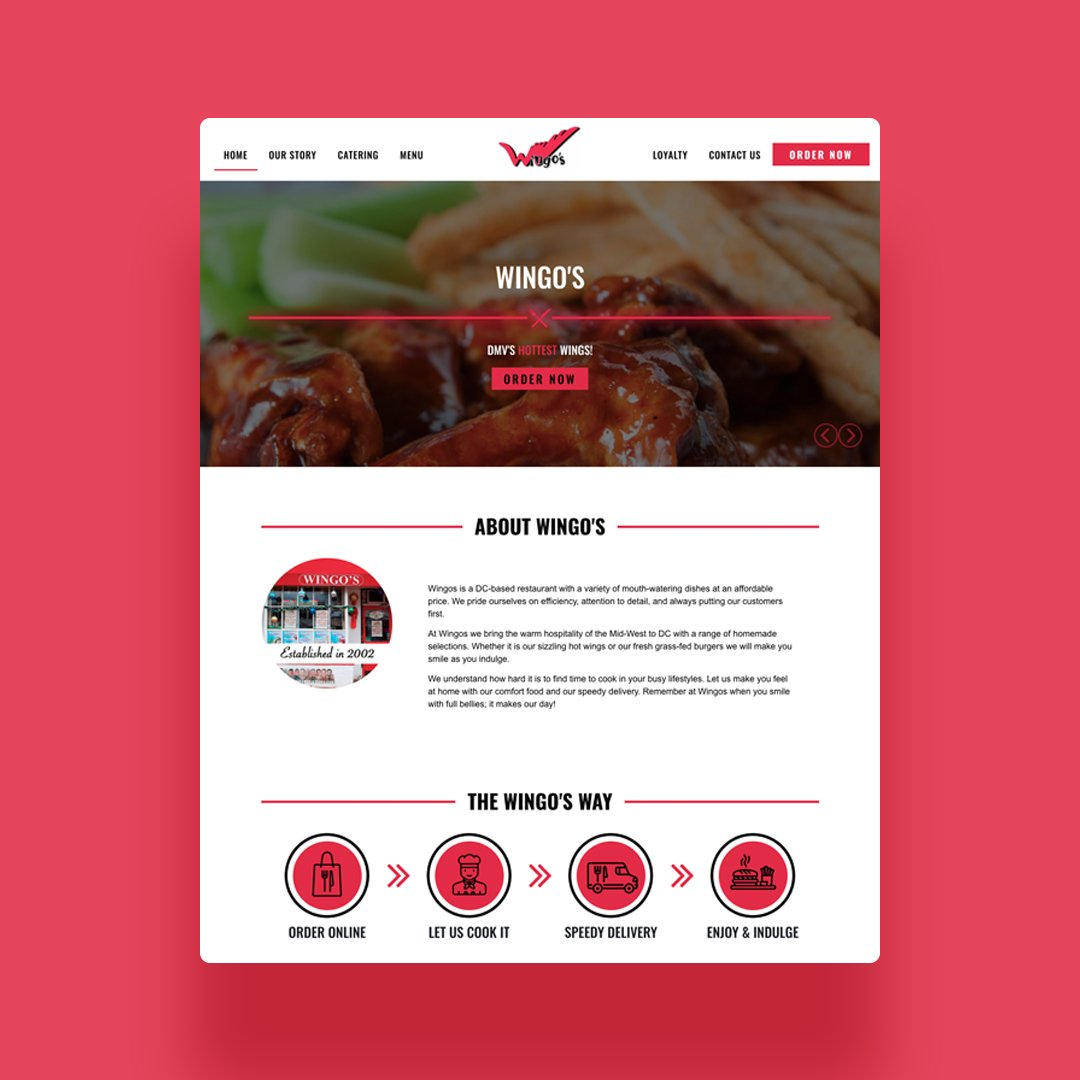 Check out one of our recent clients #wingos in the #dmv.  Custom web revamp on #WordPress with online ordering app. For full case study visit us at  http:// designindc.com  &nbsp;     #MobileOrdering #WebApp #WebDesign #graphicdesign #DC #DMV #Washington #LocalSEO #SMO #success #business<br>http://pic.twitter.com/wUBFN7lzd4
