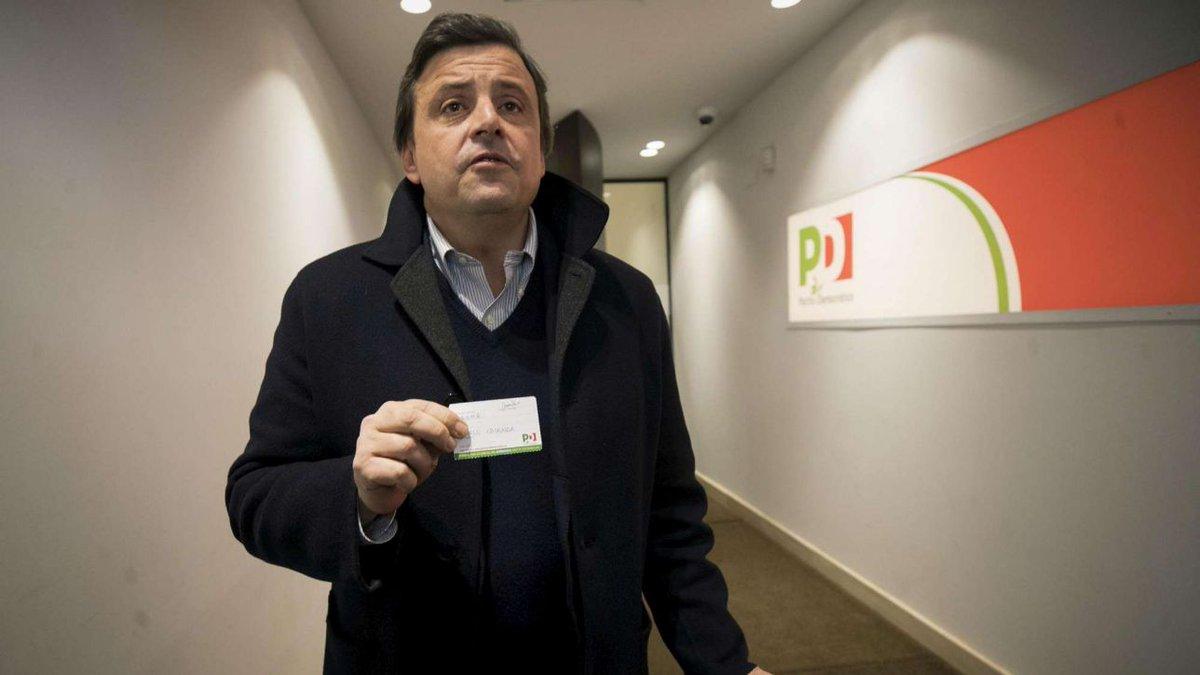 Pd, il ministro Calenda: in caso di alleanza con M5S mi dimetto  #carlocalenda https://t.co/yzaKbOTCXa