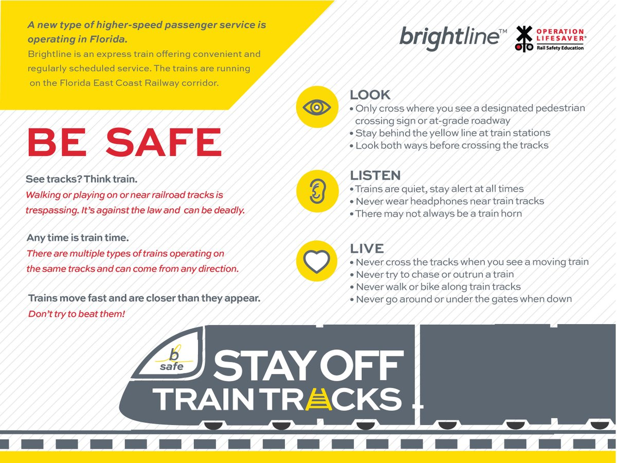 Walking On Train Tracks Law