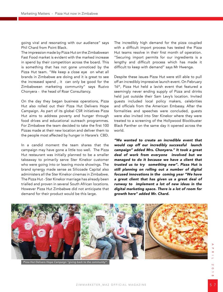 Pizza Hut Zimbabwe on Twitter: \
