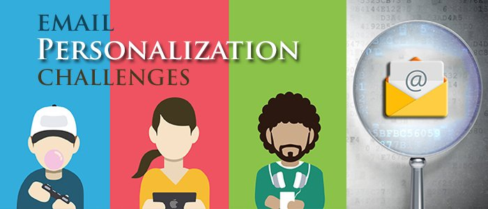 #Marketers believe that #personalization is extremely important in delivering a great customer experience. Let us explore some personalization challenges and ways to overcome them -  http:// bit.ly/2JmRJ4m  &nbsp;   #EmailMarketing #MarketingStrategy<br>http://pic.twitter.com/PpDDFwKxTD