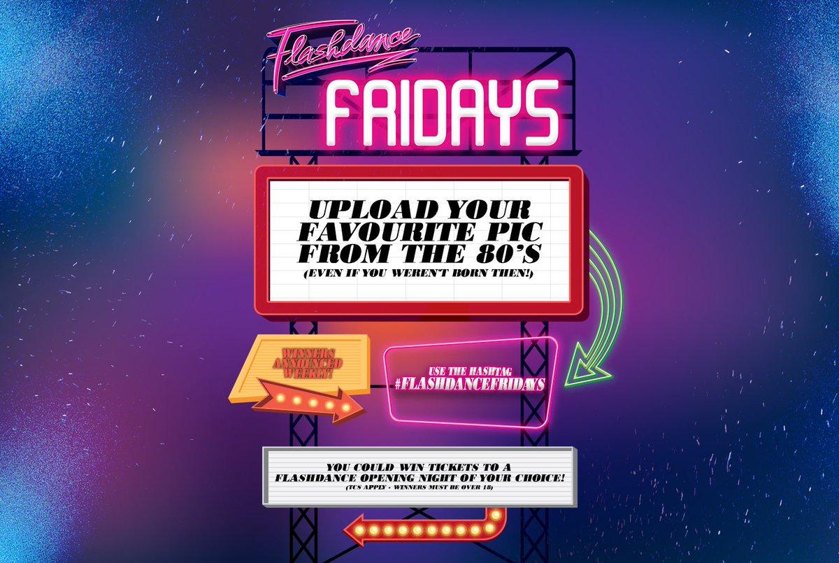 Flashdance UK Tour posted media