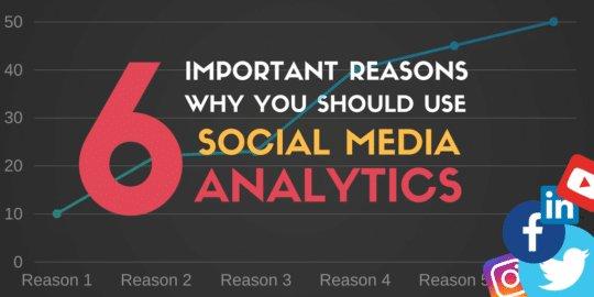 6 Important Reasons why you Should Use Social Media Analytics  https://t.co/1LkhZpK7o7 via @iagdotme