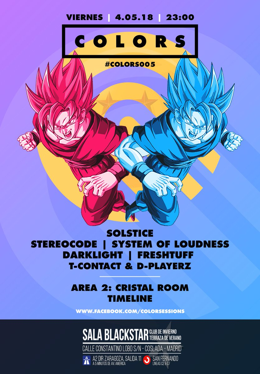 Crew Music On Twitter Colors005 En Sala Blackstar De
