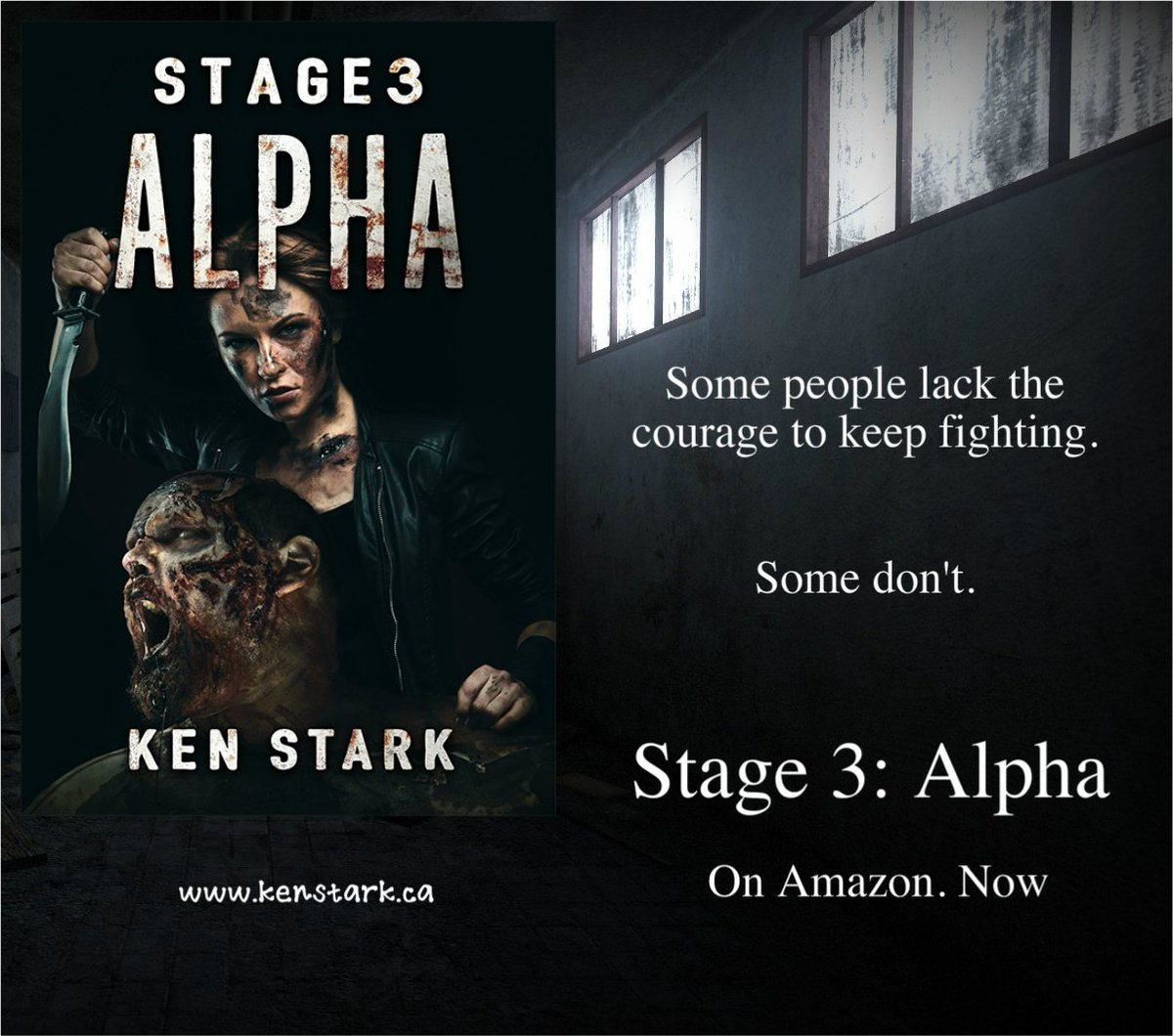 No more right, no more wrong. All that mattered now was survival.   https://www. amazon.com/dp/B072WNGG7W  &nbsp;                     #horror #zombie #survival #apocalypse #Stage3 #series #NewRelease  Read #Stage3Alpha for #FREE on #KindleUnlimited<br>http://pic.twitter.com/l93CEK74wT