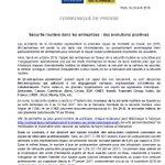 Image for the Tweet beginning: [Sécurité Routière] Les accidents de la