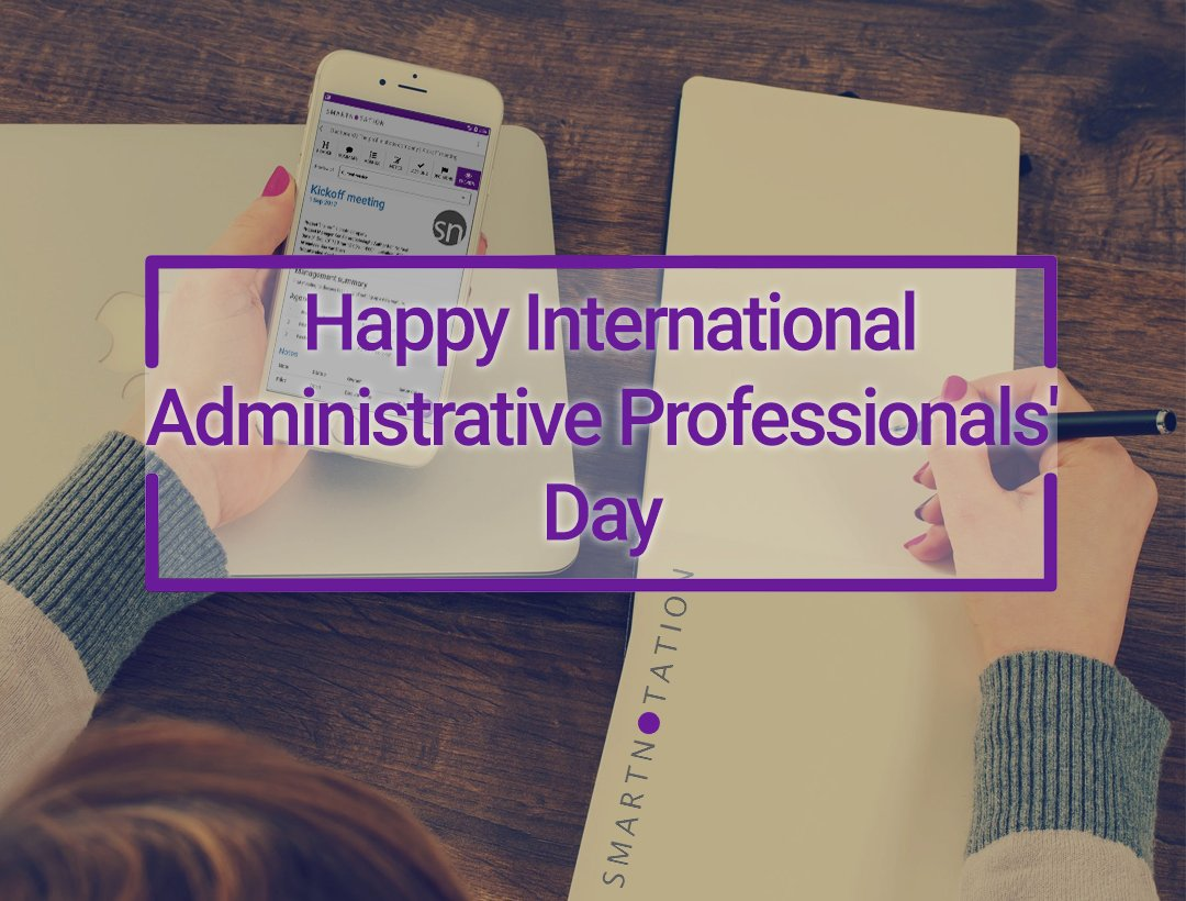 Happy international Secretaries day. #yourday #enjoy #thankyou #secretariesday #adminday<br>http://pic.twitter.com/uiWZ2QZrv0