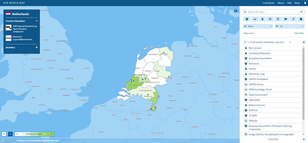 Media tweets by oer world map oerworldmap twitter check out oerworldmaps new country view for example on the netherlands hosting oerglobal18 httpsoerworldmapcountrynlsize20sortabout name gumiabroncs Choice Image