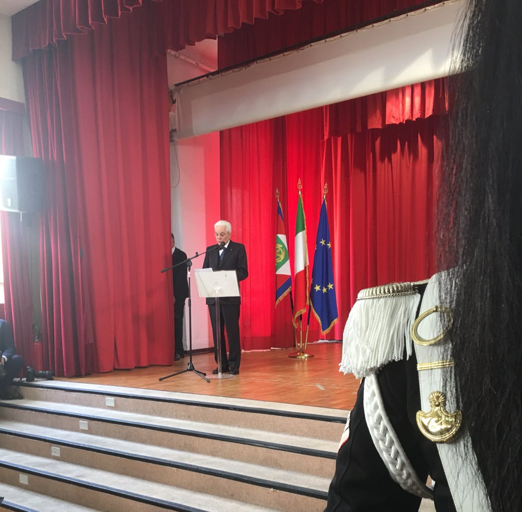 #Casoli, #Mattarella: Non era, quella fascista, la Patria che aveva meritato il sacrificio eroico di tanti soldati italiani