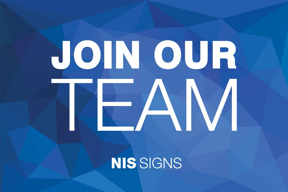 nis signs on twitter we are hiring due to our ever expanding list