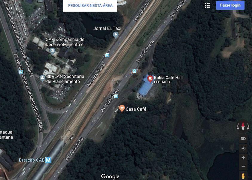 Carro se choca contra poste e bloqueia faixa da Av. Luís Viana, na Paralela https://t.co/44Ss7e0M3l