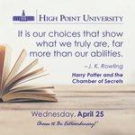 [CALENDAR] #DailyMotivation from J.K. Rowling #HPU365