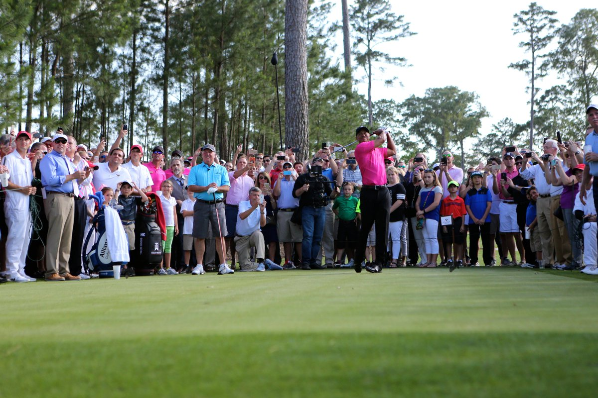 Two years ago today, the first @TigerWoods TGR Design golf course opened in the US. Happy Anniversary to all of our friends @BluejackNation !