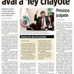 #LeyChayote