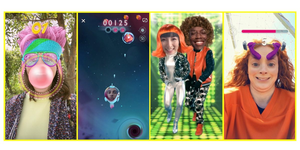 Snapchat update introduces Snappables — a new way to play fun AR games with yourfriends https://t.co/Pdvi1I83Y9 by @apollozac