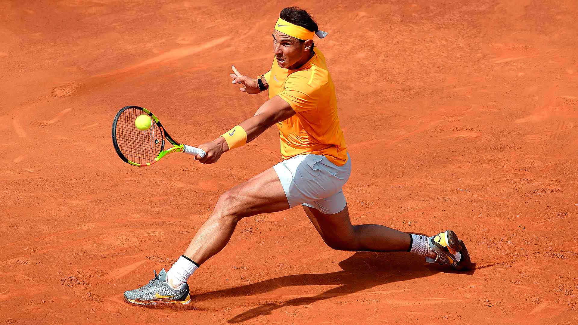 Nadal extends record clay-court pace in Barcelona opener.  ▶️ https://t.co/g91N0PlC7M #ATP #bcnopenbs https://t.co/TloTJK348K